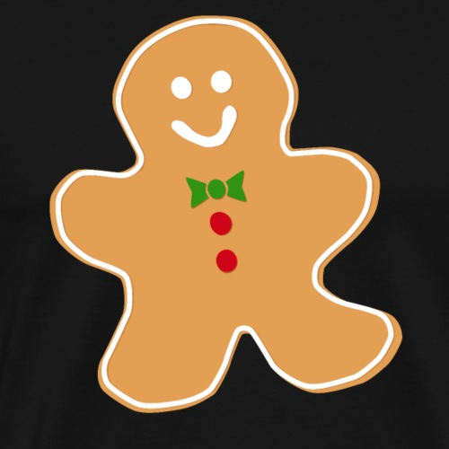 cookie man christmas - Camiseta premium hombre