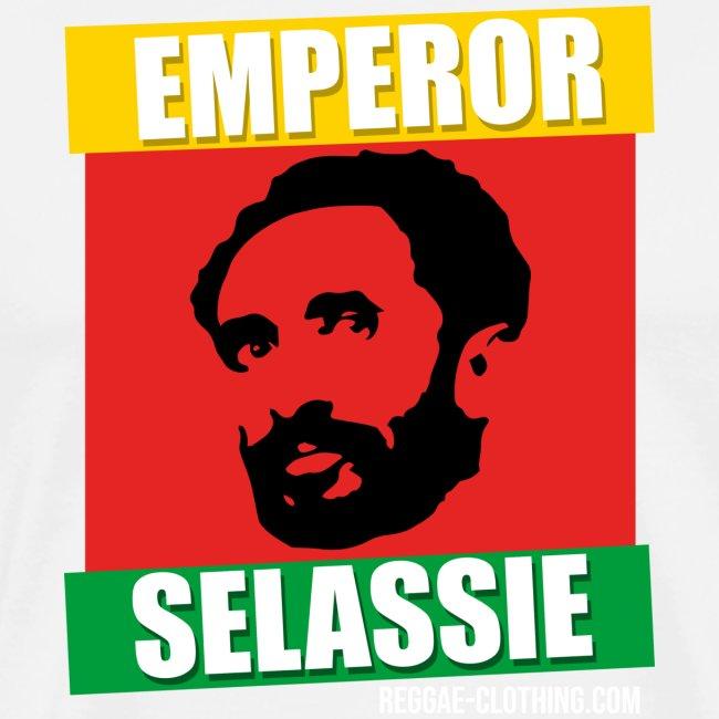 EMPORER SELASSIE red gold green
