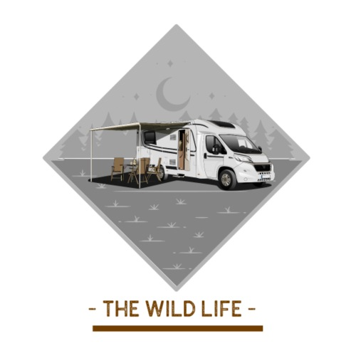 The Wild Life teilintergriertes Wohnmobil - Männer Premium T-Shirt