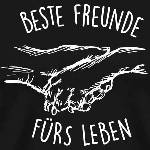 Beste Freunde fürs Leben - Männer Premium T-Shirt