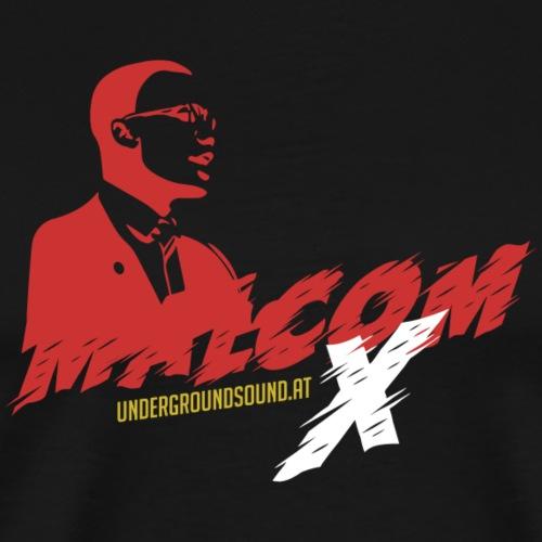 MALCOM X by UNDERGROUND - Männer Premium T-Shirt