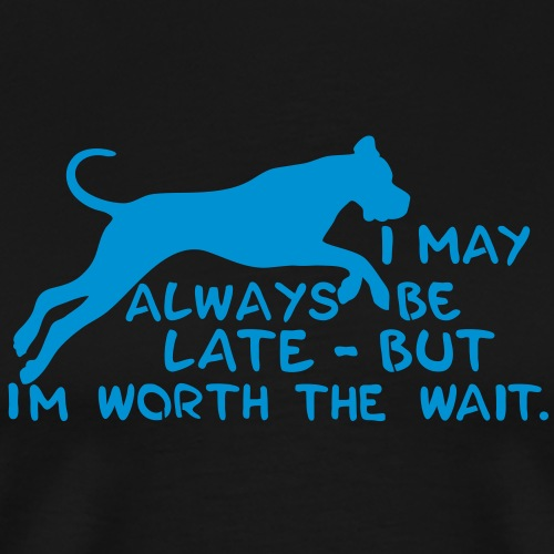 Kommt der Hund nicht - Männer Premium T-Shirt