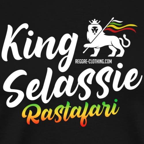 King Selassie Rastafari - Männer Premium T-Shirt