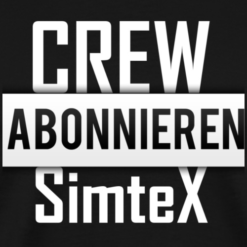 SimteX CREW - Männer Premium T-Shirt
