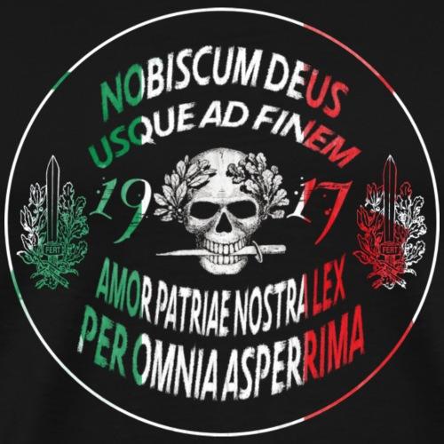 Nobiscum Deus - Maglietta Premium da uomo