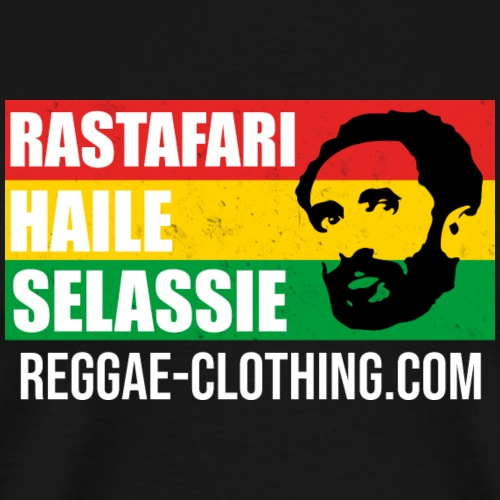 RASTAFARI HAILE SELASSIE - Männer Premium T-Shirt