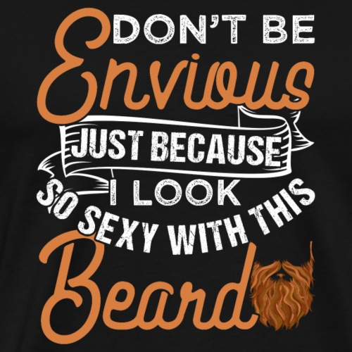 Sexy Bearded Man - Männer Premium T-Shirt