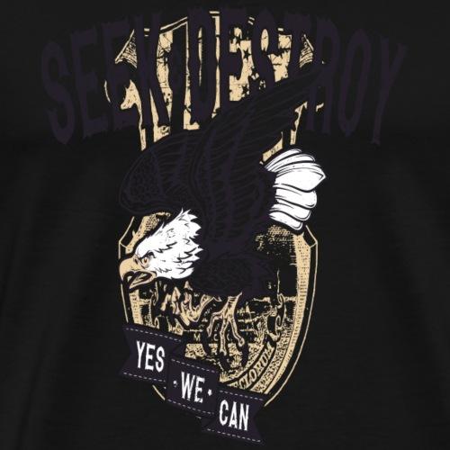Seek Destroy - Shirts - Premium T-skjorte for menn