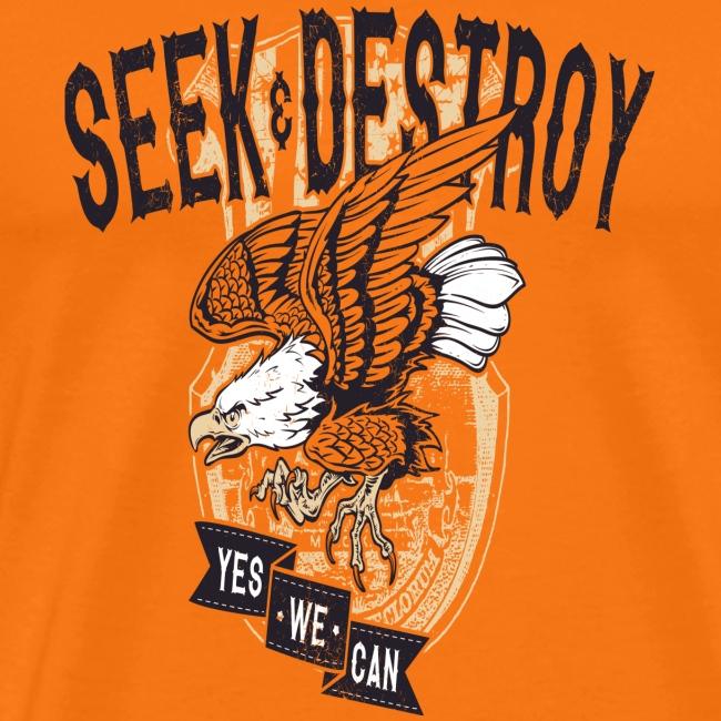 Seek Destroy - Shirts