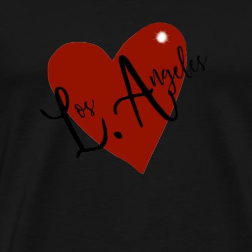 Love LA,, I heart Los Angeles - Men's Premium T-Shirt