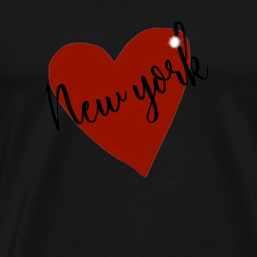 Love NY I heart new york design - Men's Premium T-Shirt