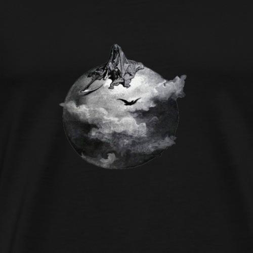 Grim Reaper The Raven gothic design - Men's Premium T-Shirt