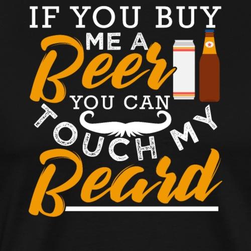 Beer Beard - Männer Premium T-Shirt