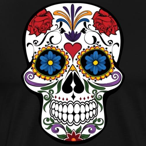 Calavera - Männer Premium T-Shirt