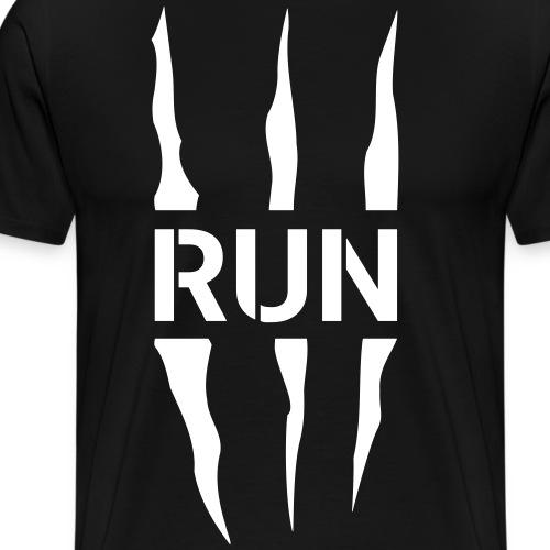Run Scratch - T-shirt Premium Homme
