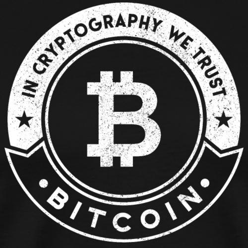 Bitcoin - Maglietta Premium da uomo