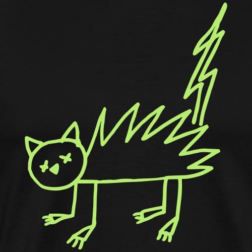Halloween Undead flash chat Zombie - T-shirt Premium Homme