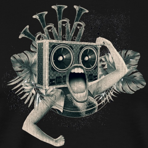 Reggae Punk - Männer Premium T-Shirt