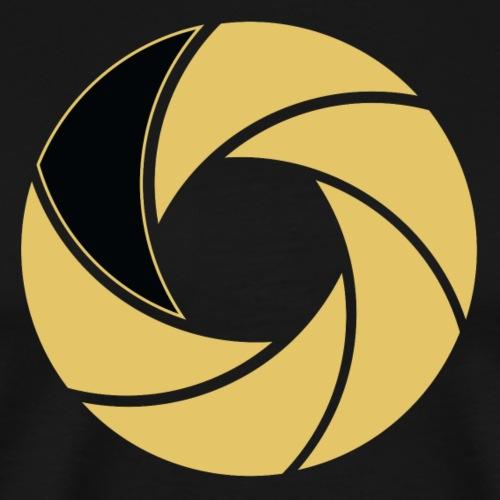 Studio303 nur Enblem Shutter - Männer Premium T-Shirt