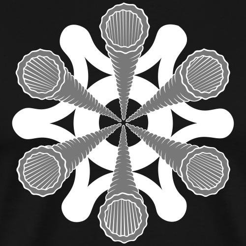 vortex - T-shirt Premium Homme