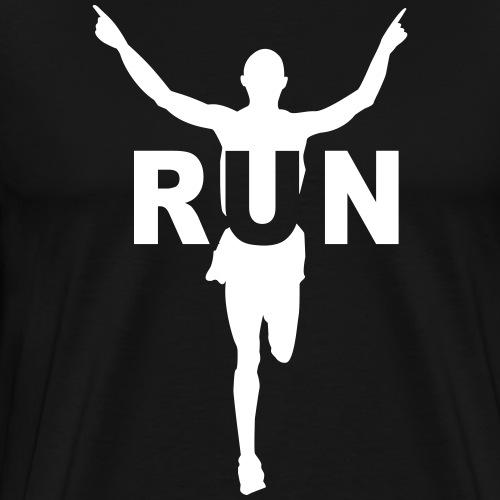 Run course à pied - T-shirt Premium Homme