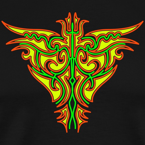 Maori Firebird - Men's Premium T-Shirt