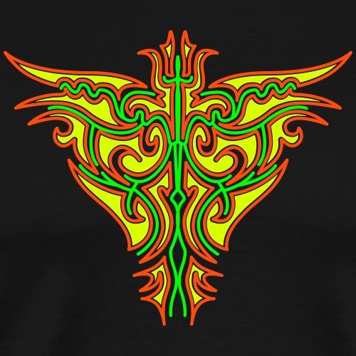 Maori Firebird - Premium-T-shirt herr
