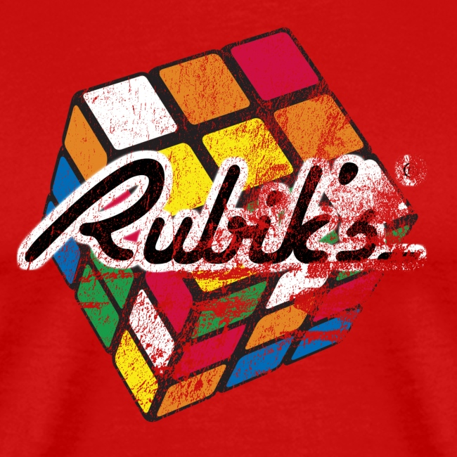 Rubik's Cube Colourful Retro Magic Cube