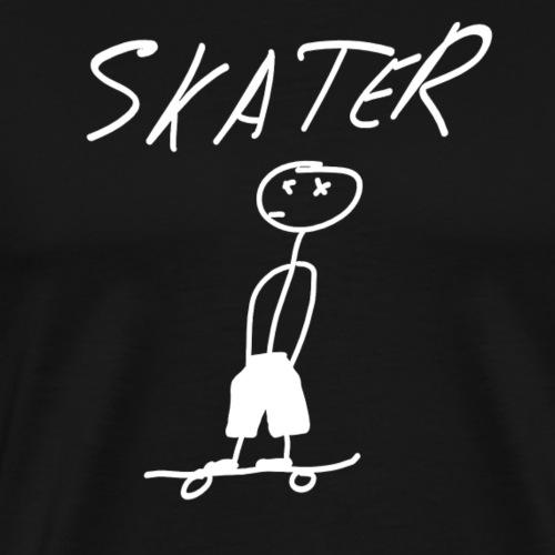 Skater - Camiseta premium hombre