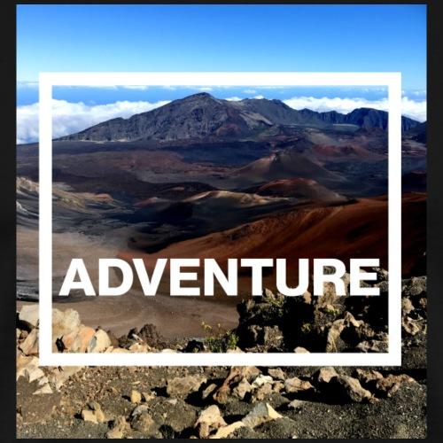 Adventure Abenteuer Vulkan - Männer Premium T-Shirt