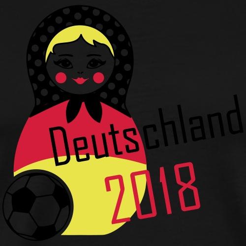 Matroschka Fussball 2018 - Männer Premium T-Shirt