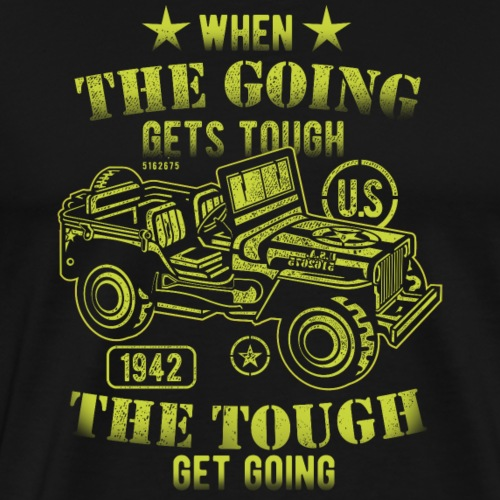 Cool T-Shirt When the going gets tough - Männer Premium T-Shirt