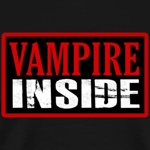 Vampire inside - Maglietta Premium da uomo