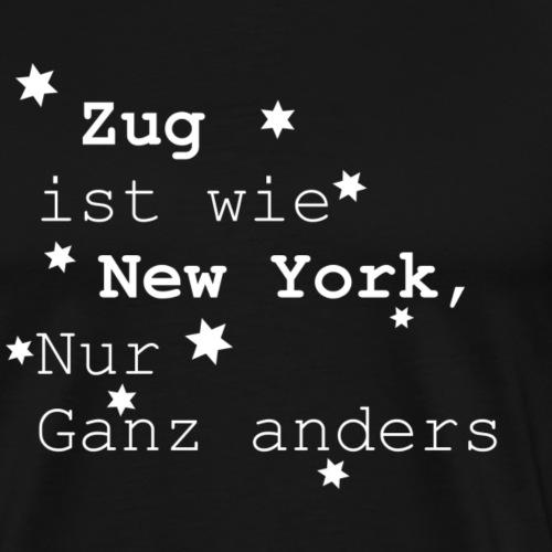 Zug - Männer Premium T-Shirt