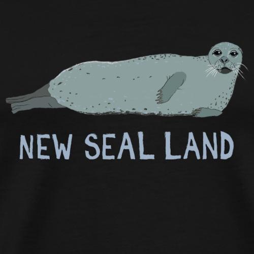 NEW SEAL LAND - Männer Premium T-Shirt