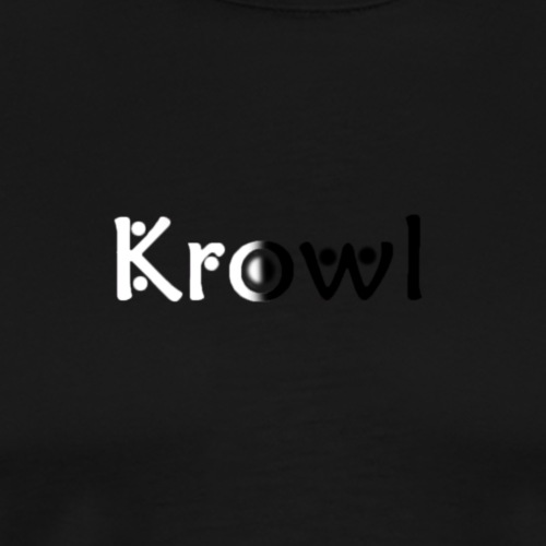 Krowl 1st Yin & Yang Design - T-shirt Premium Homme