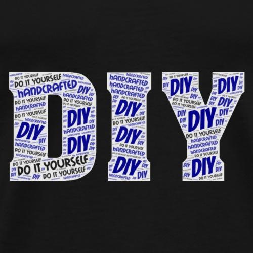 DIY Wortwolke - Männer Premium T-Shirt