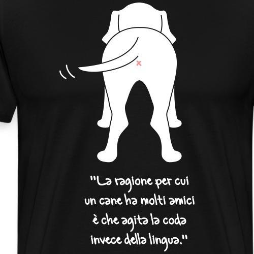 Scodinzolando... - Maglietta Premium da uomo