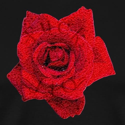 Fuck Off Rose crystal - Men's Premium T-Shirt