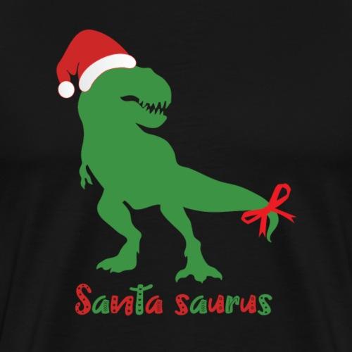 Santa Saurus - Männer Premium T-Shirt