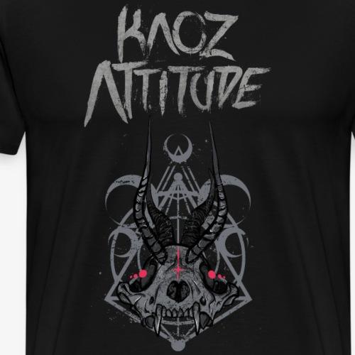 Fox Skull Demonlord - Männer Premium T-Shirt
