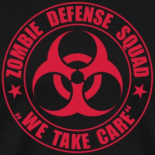 Zombie Defense Squad - we take care - Männer Premium T-Shirt