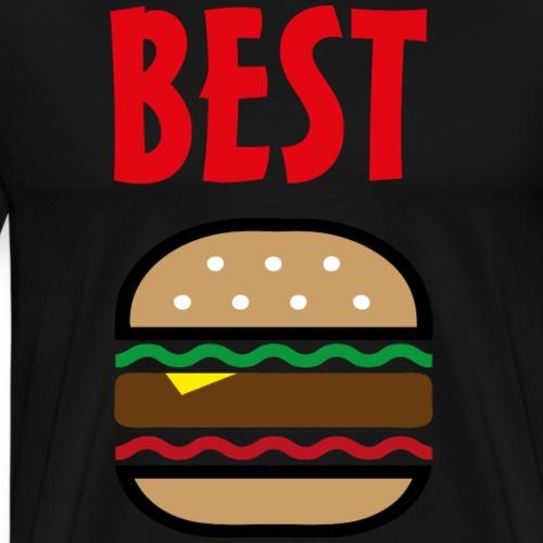 Best Friends Burger & Fries Fritten Pommes Frittes - Männer Premium T-Shirt