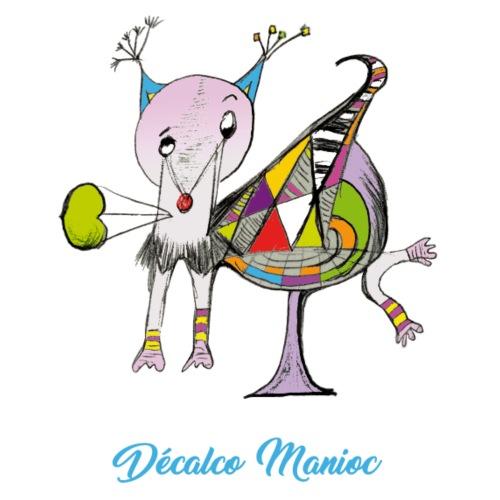 Décalco Manioc - T-shirt Premium Homme