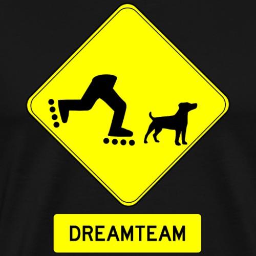 Inliner Hund - Männer Premium T-Shirt