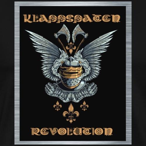 Klappspaten Revolution - Männer Premium T-Shirt