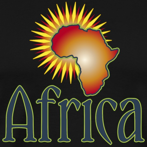 Afrika Big Five Africa feurige Sonne Safari Reggae - Men's Premium T-Shirt