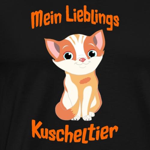 Baby Katze Mein Lieblings Kuscheltier Illustration