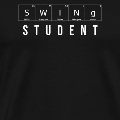 Swing Student Dance T-Shirt - Männer Premium T-Shirt