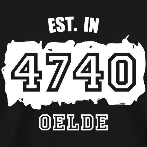 Established 4740 Oelde - Männer Premium T-Shirt
